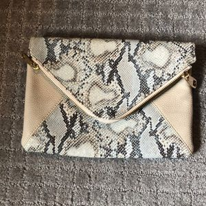 Handbags - Snake skin clutch